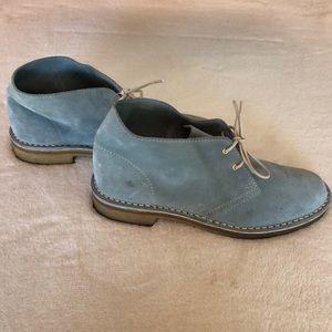 Kate Spade Chukka / desert boots light blue size 8